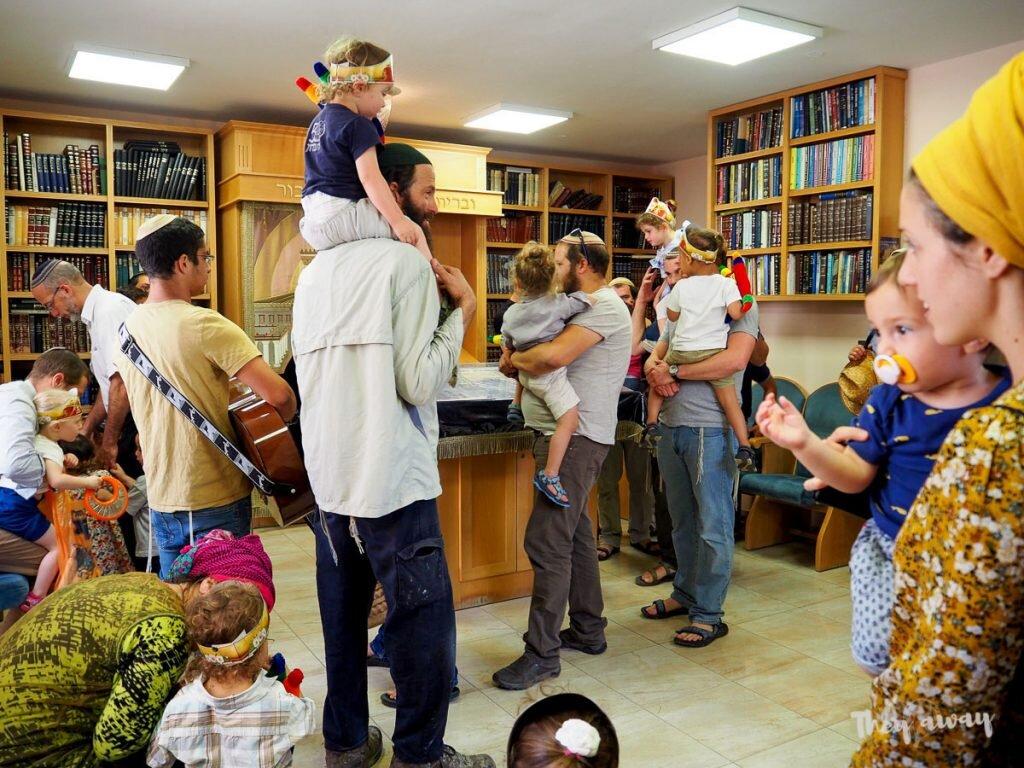 Hebron tour świętowanie