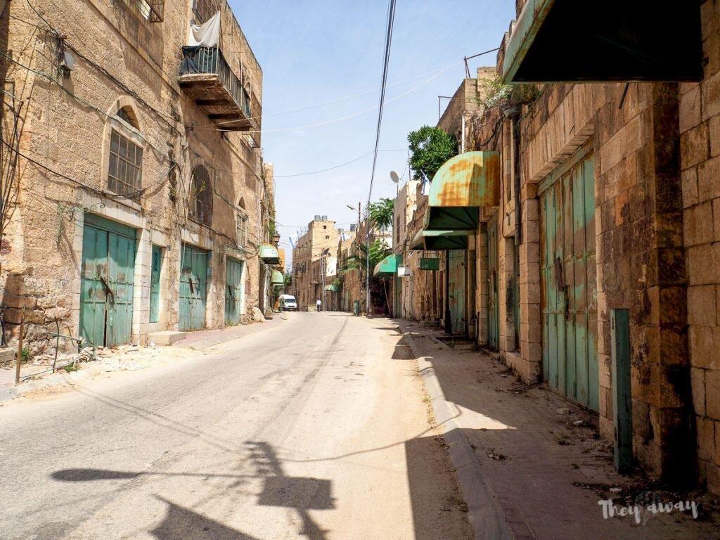 Hebron ulica widmo