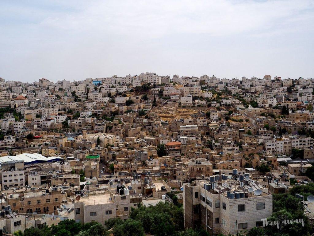 Hebron miasto z góry